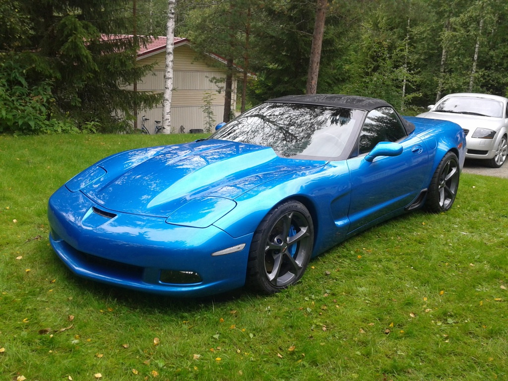 Pic Request Oem C6 Gs Wheels On C5 Corvetteforum